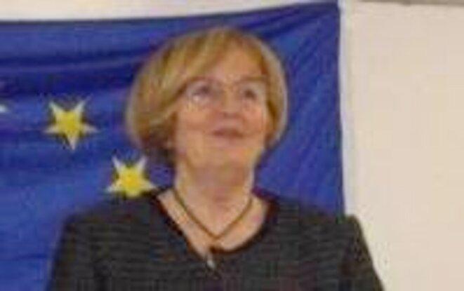 Monique Beltrame, présidente du Comité Européen Marseille © Philippe Léger