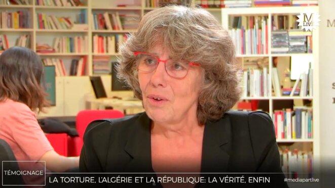 Michèle Audin © Mediapart
