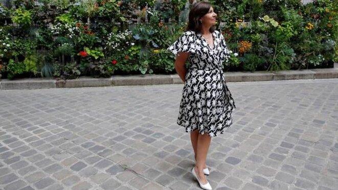 Anne Hidalgo à Paris, le 29 juin. © Reuters