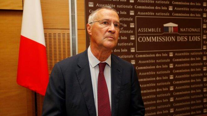 Le directeur de cabinet Patrick Strzoda devant la commission des lois, le 24 juillet. © Reuters
