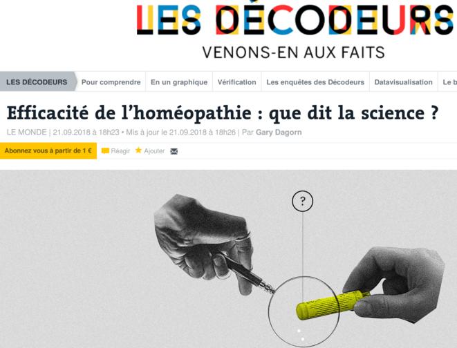 https://www.lemonde.fr/les-decodeurs/visuel/2018/09/21/efficacite-de-l-homeopathie-que-dit-la-science_5358516_4355770.html