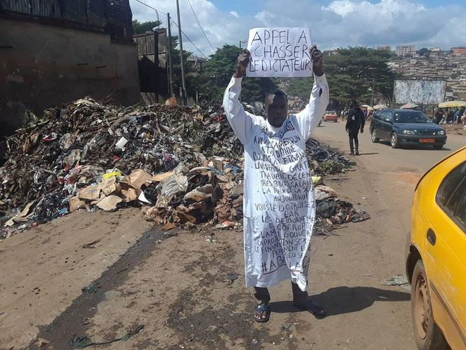 Jules Anama («El Pacho»). Yaoundé le 13 septembre2018