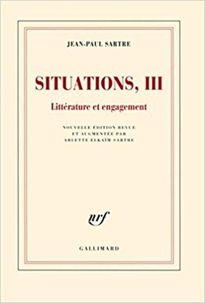 « Qu'est-ce qu'un collaborateur ? » figure dans le recueil d'articles « Situations III »