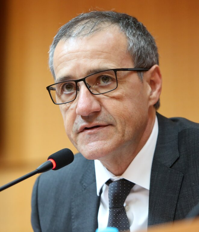 Me Jean-Guy TALAMONI Président de l'Assemblée de Corse © Corse Net Infos