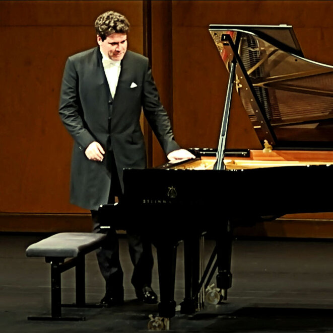 Denis Matsuev ovationné le 17 septembre 2018 à Paris