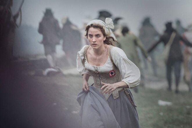 """Adèle Haenel dans """"Un peuple et son Roi""""."""