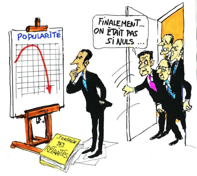 Macron © Calvi