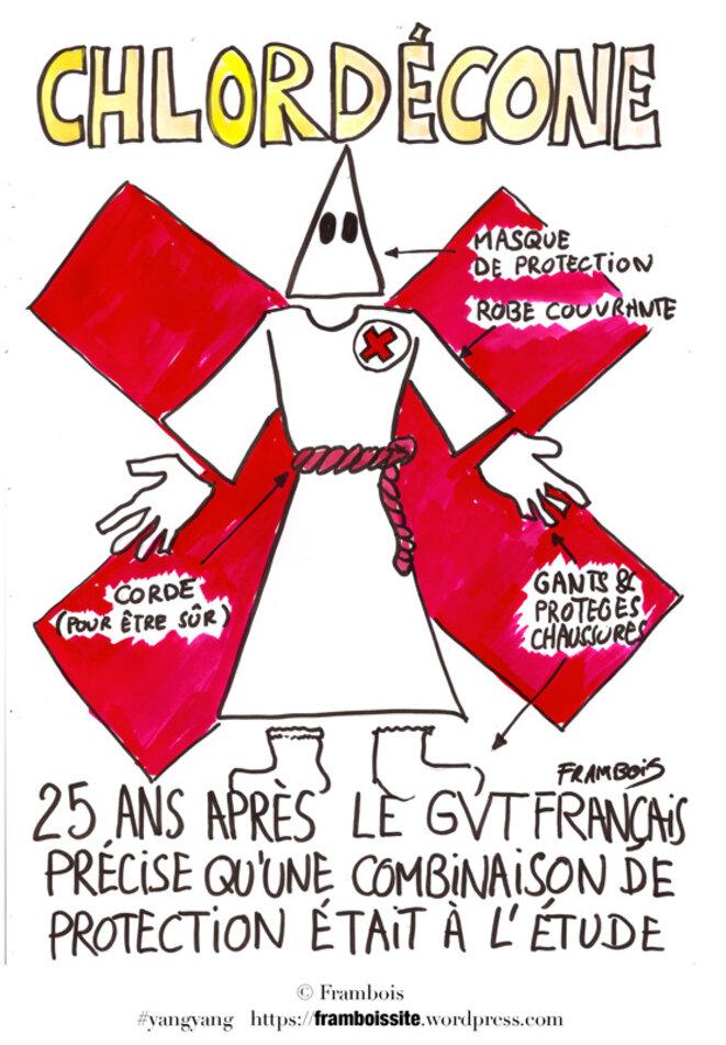 Chloredécone -on ne compte plus les cas !!! © Frambois