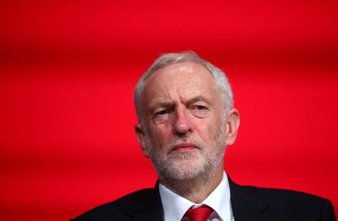 Jeremy Corbyn el 23 de septiembre de 2018, en Liverpool. © Reuters / Hannah McKay
