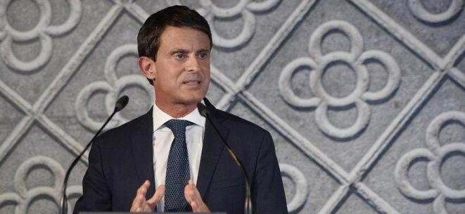 Manuel Valls, le 25 Septembre 2018