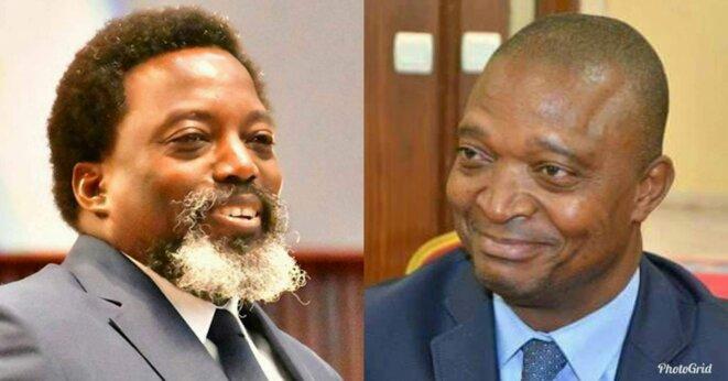 Joseph Kabila et son dauphin Shadary