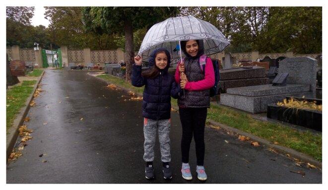 Sur le chemin de l'école, Montreuil septembre 2018 © JK
