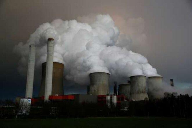 La centrale à charbon RWE, à Niederaussem, en Allemagne. © Reuters