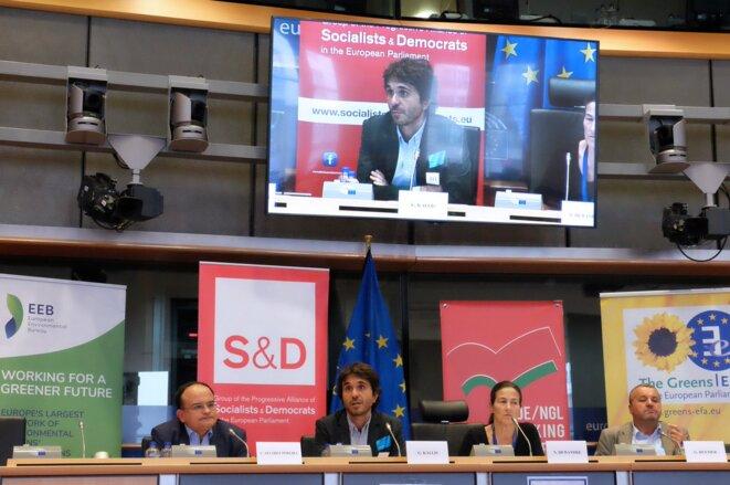 Décroissance, dialogue au Parlement Européen © @R_Degrowth