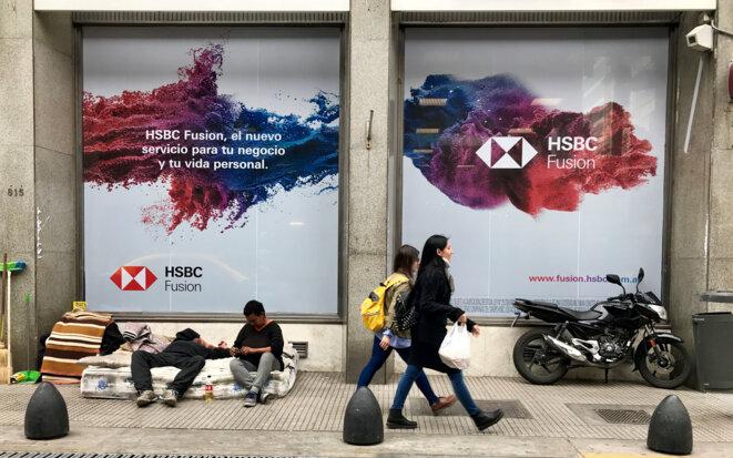 Dans les rues de l'hypercentre de Buenos Aires, le 27 septembre 2018. © Reuters / Marcos Brindicci