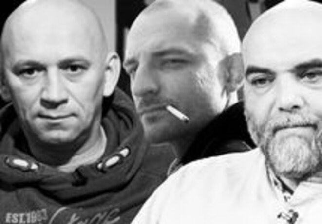 Alexandre Rastorguev, Kirill Radchenko, Orkhan Dzhemal © Grani.ru