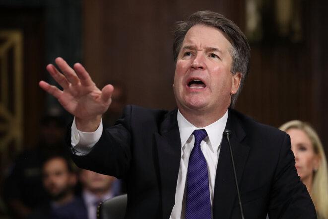 Brett Kavanaugh auditionné par le Sénat se défendant vigoureusement