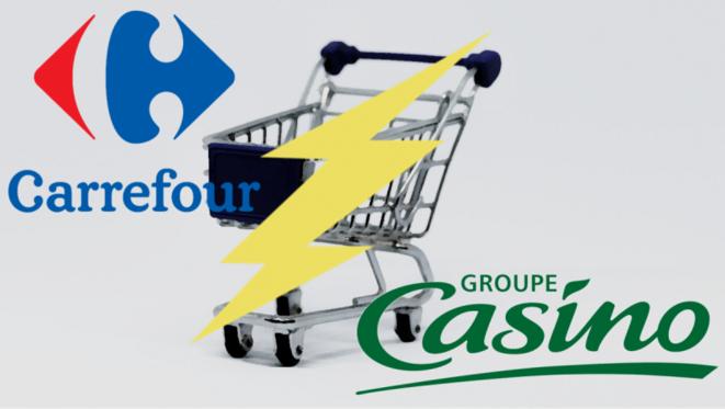 Carrefour et Casino - Amour compliqué