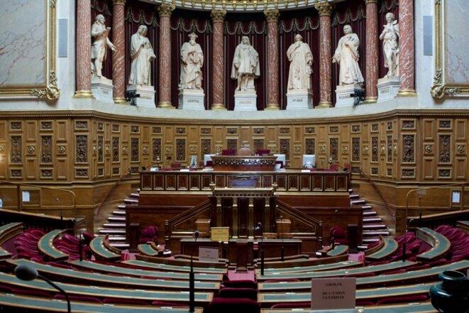 Hémicycle du sénat © Jacques Abada