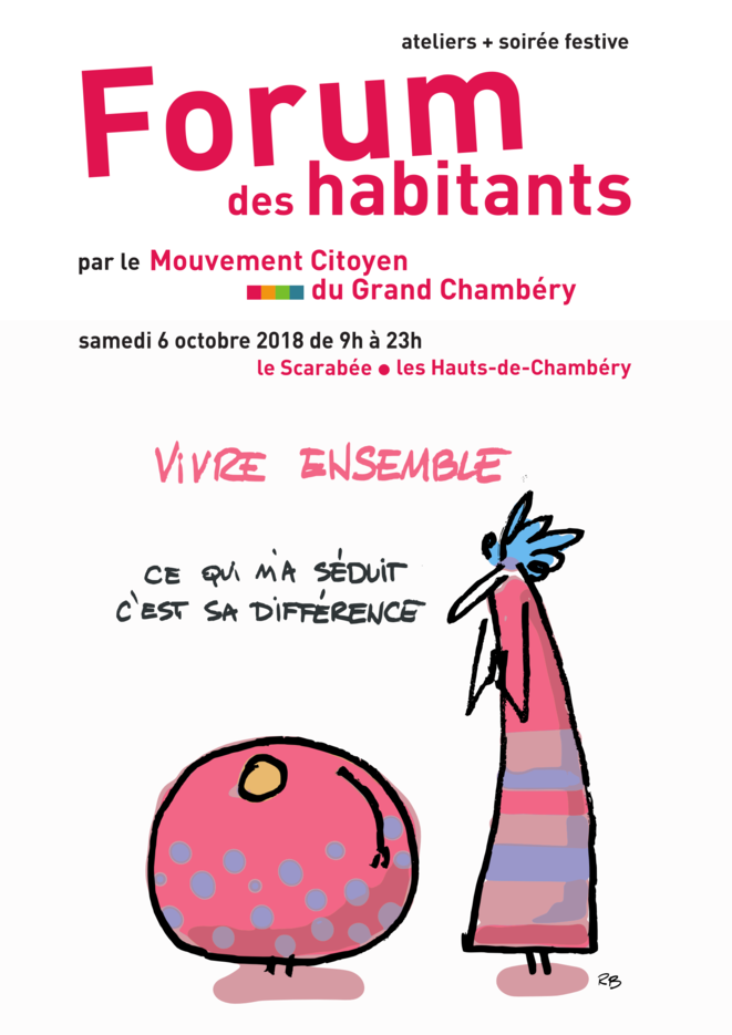 Forum des habitants le 6 octobre 2018