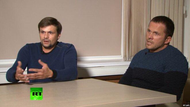 Ruslan Bashirov et Alexandre Petrov © Russian Today