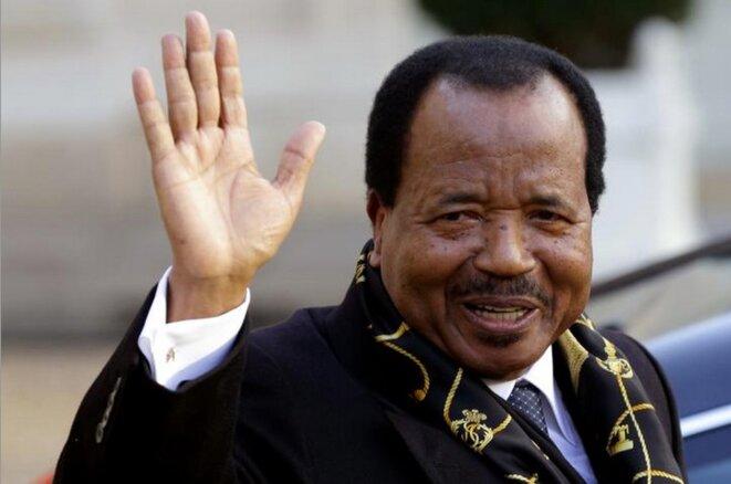 Paul Biya en janvier 2013 à Paris © Reuters