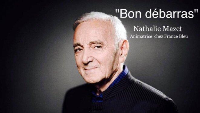 Charles Aznavour diffamé par Nathalie Mazet
