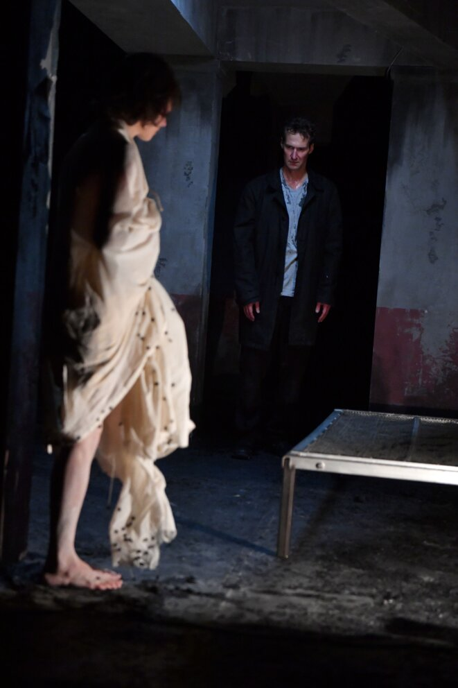 """Scène de """"Crime et châtiment"""" © Marc Ginot"""