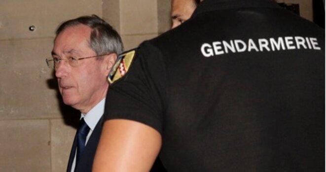 Claude Guéant, le 28 septembre 2015, au tribunal de Paris. © Reuters