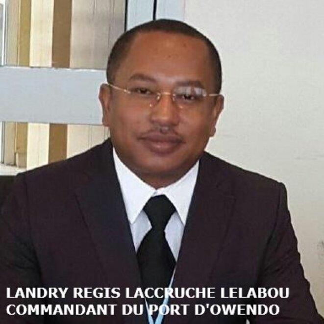 M. Régis Laccruche Lélabou, Commandant du port d'Owendo