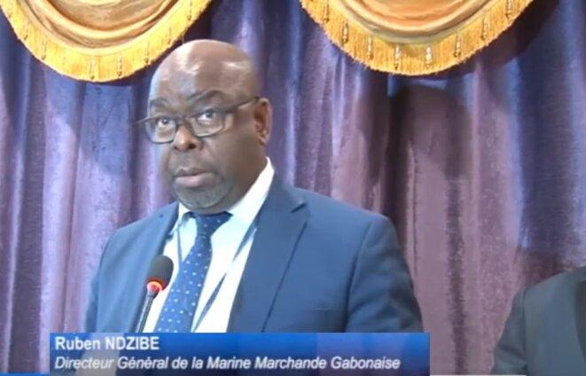 M. Ruben NDZIBE, Directeur général de la Marine de la Marine marchande gabonaise