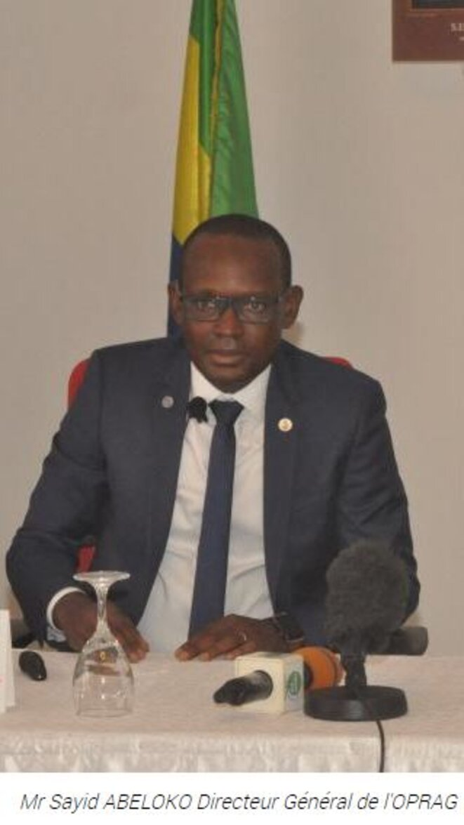 M. Sayid Abeloko, Directeur Général de l'Office des Ports et Rades du Gabon