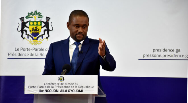 Porte-parole de la Présidence de la République Gabonaise, M. Ike Ngouoni Aila Oyouomi