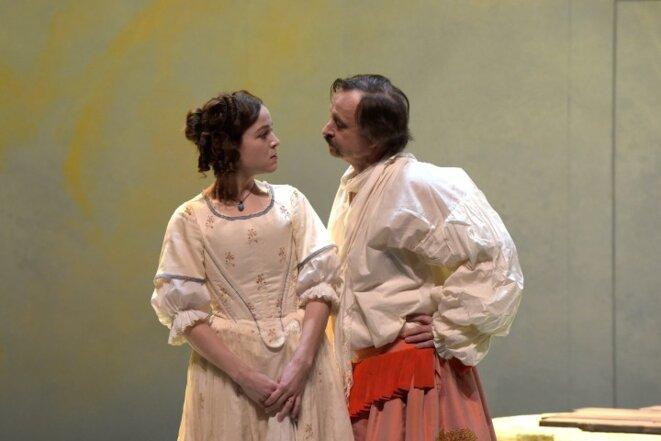 Angélique et Dandin © Pascal Victor