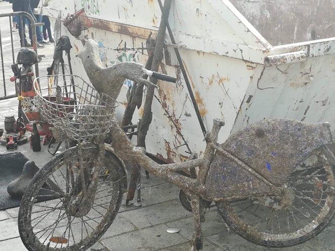 La Bicyclette Grise © Philippe Léger