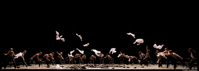 Ohad Naharin fait danser Garnier © Julien Benhamou
