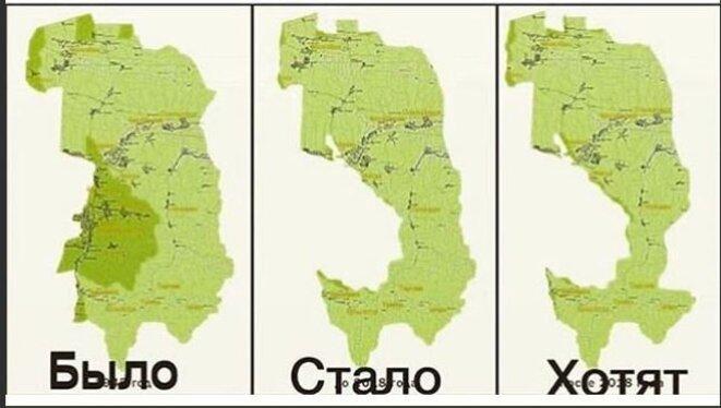 Territoire ingouche, avant - après - à l'avenir. © Facebook