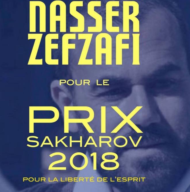 Nasser Zefzafi candidat au prix Sakharov