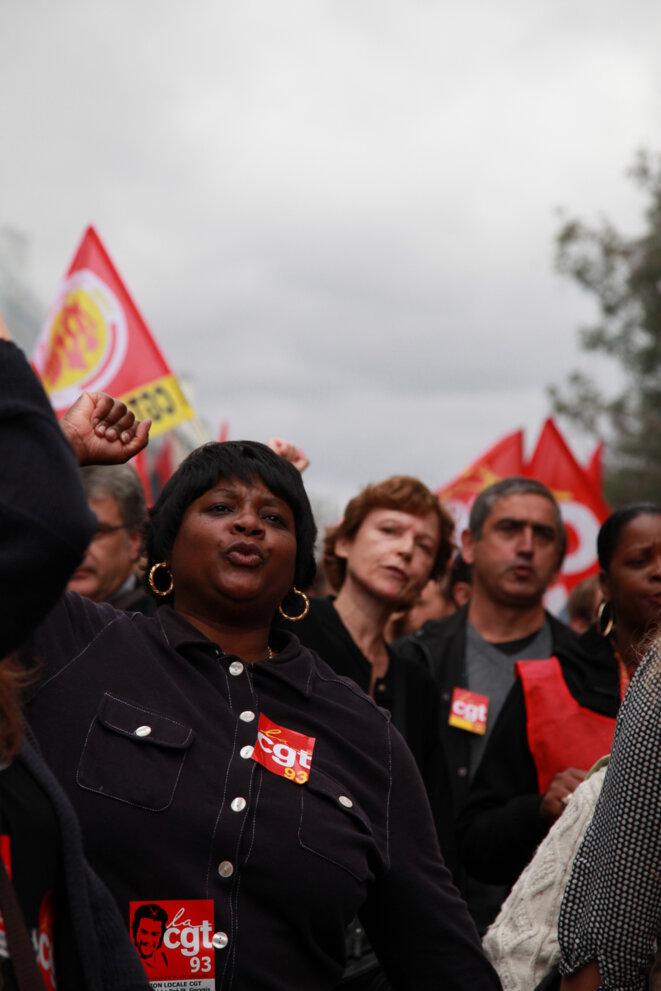 Grève en 2010 contre le projet de réforme des retraites © AL Photos