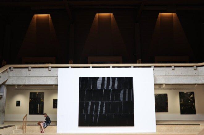 """""""Une rétrospective"""" à la Fondation Pierre-Gianadda © www.pierre-soulages"""