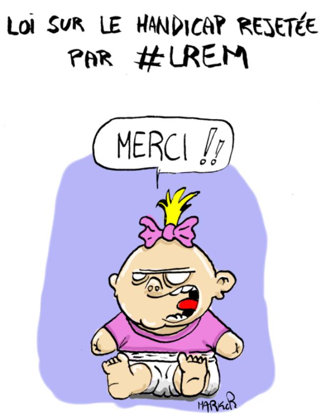#LREM censure un projet pour le handicap © Marker-art.com