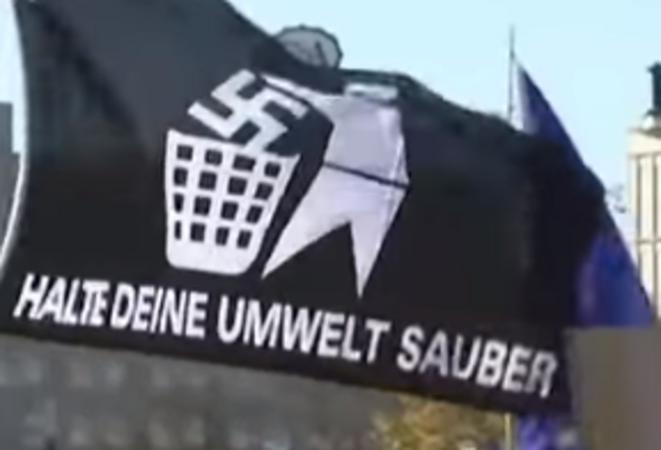 berlin-13-octobre-halte-deine-umwelt-sauber