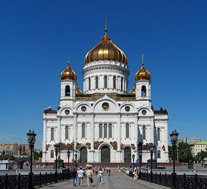 Temple du Christ sauveur à Moscou © Wikipedia