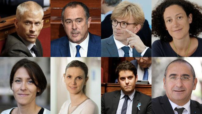 Les huit nouveaux entrants. © DR / Reuters