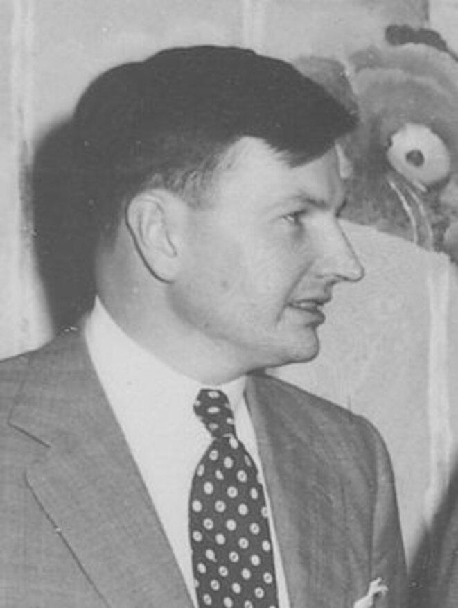 David Rockefeller en 1953.