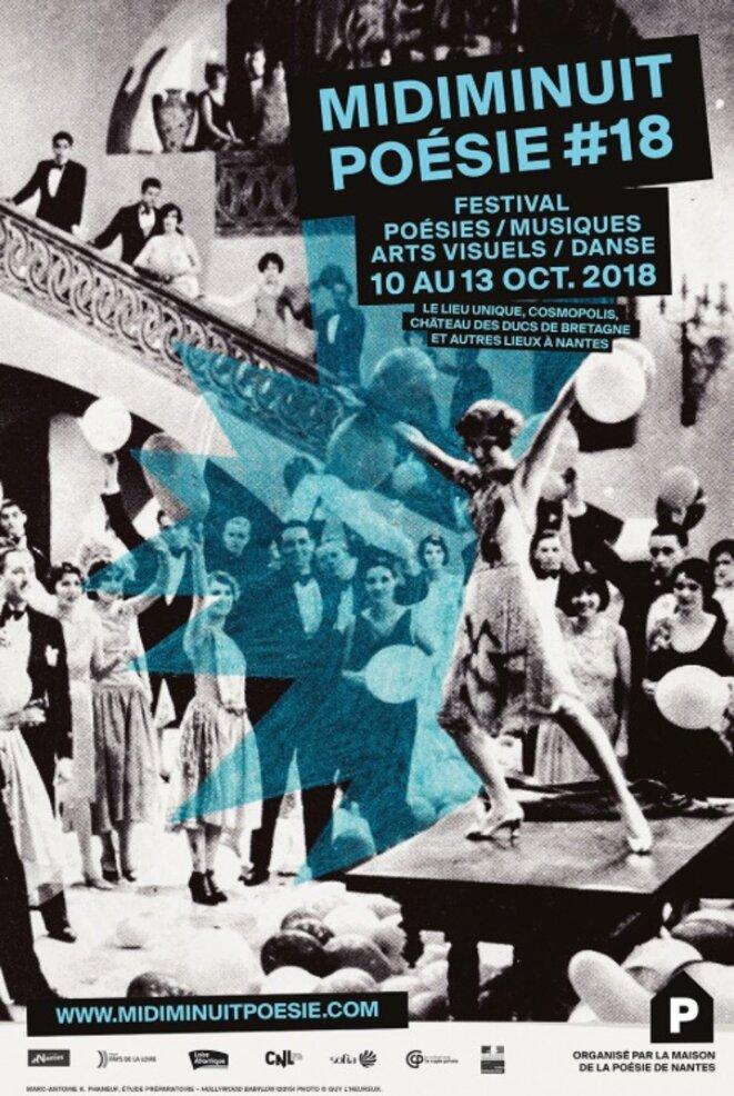 La dix-huitième édition de Midiminuit Poésie à Nantes