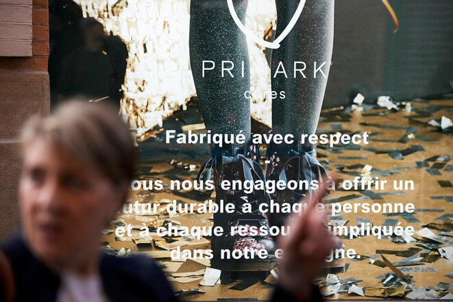 Ouverture à Toulouse d'un magasin Primark, le 17 octobre 2018. © Alain Pitton
