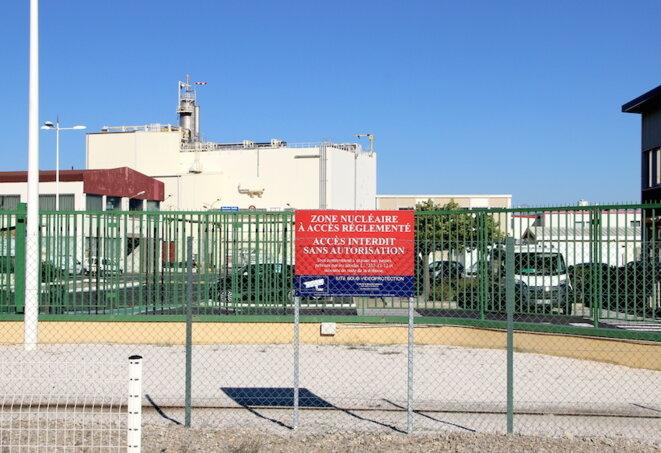 Le site d'Orano Malvési, en novembre 2017. © Manu Riondé