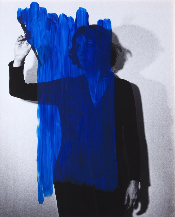 """Helena Almeida, """"Estado para un enriquecimiento interior"""", 1976, Colección Helga de Alvear, Madrid © Helena Almeida"""