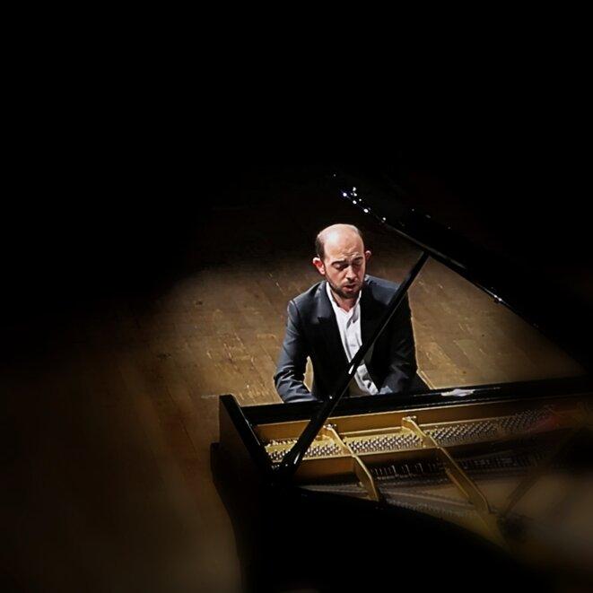François Dumont à la Salle Gaveau le 12 octobre 2018, photo Jacques Chuilon